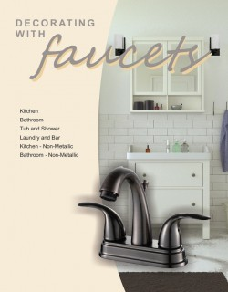 New Faucets Cover